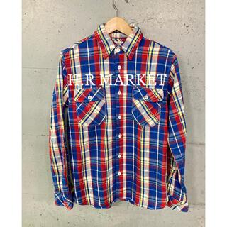 ハリウッドランチマーケット(HOLLYWOOD RANCH MARKET)のH.R MARKET ネルシャツ!(シャツ)
