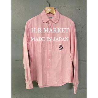 ハリウッドランチマーケット(HOLLYWOOD RANCH MARKET)のH.R MARKET ピンクシャツ!日本製!(シャツ)