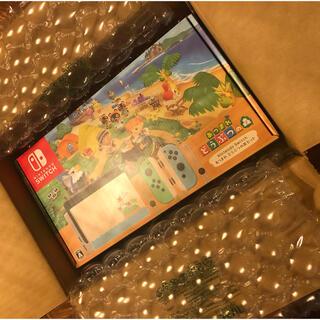 ニンテンドースイッチ(Nintendo Switch)のNintendo Switch 本体 あつまれどうぶつの森セット スイッチ本体(家庭用ゲーム機本体)