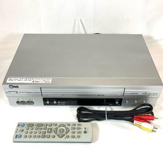 エルジーエレクトロニクス(LG Electronics)の【メンテナンス済】LG GV-HIA5 VHSビデオデッキ【純正リモコン付】(その他)