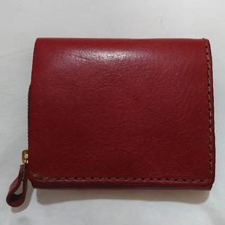 ヘルツ(HERZ)のHERZ 小型の二つ折り財布(NSA-36) ボルドー(折り財布)