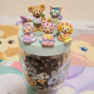ディズニー(Disney)のディズニー ダッフィーフレンズ スプリングインブルーム アソーテッドティー (茶)