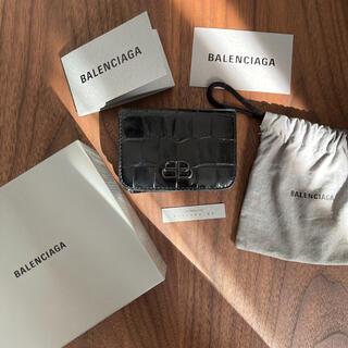 Balenciaga - BALENCIAGA 折り財布 クロコダイル