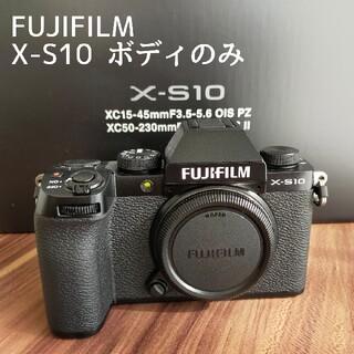 富士フイルム - FUJIFILM X-S10 ボディ 美品