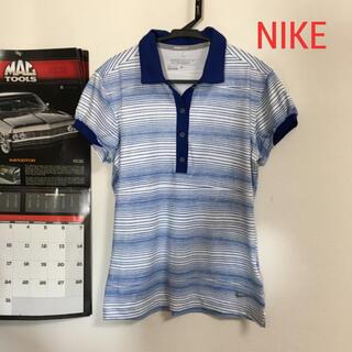ナイキ(NIKE)のナイキ NIKE ポロシャツ ボーダー(ウエア)
