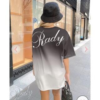 レディー(Rady)のready☆グラデーションロゴTシャツS(Tシャツ(半袖/袖なし))