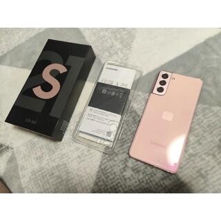 ギャラクシー(Galaxy)の【値下げ中】Galaxy S21 256GB  pink(スマートフォン本体)