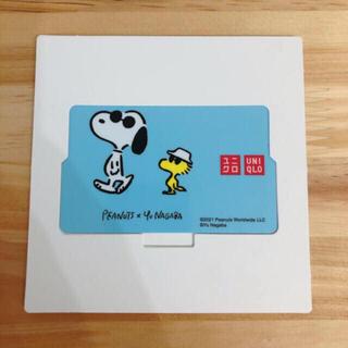 ユニクロ(UNIQLO)の【未使用】ユニクロギフトカード 5000円分(ショッピング)