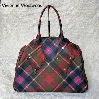 ヴィヴィアンウエストウッド(Vivienne Westwood)の【大人気】ヴィヴィアン ウエストウッド ボストン チェック 旅行(ボストンバッグ)