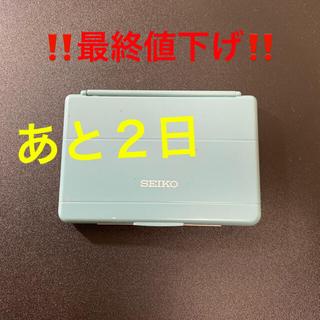 セイコー(SEIKO)の最終 SEIKO 漢字・英和・和英辞書(電子ブックリーダー)