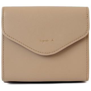 agnes b. - 《新品・未開封》 agnes b. レザー ミニ ウォレット 二つ折り財布
