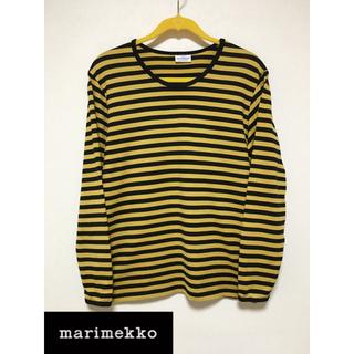 マリメッコ(marimekko)のマリメッコ marimekko ボーダー Tシャツ メンズ Sサイズ(Tシャツ/カットソー(七分/長袖))