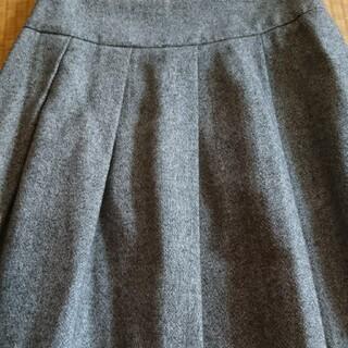 オルベネ(ORBENE)の⭐オルベネ グレー スカート⭐(ひざ丈スカート)