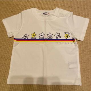 エックスガールステージス(X-girl Stages)の新品 エックスガール x-girl Tシャツ 半袖Tシャツ(Tシャツ/カットソー)