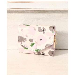 アフタヌーンティー(AfternoonTea)のアフタヌーンティー⭐︎花柄折りたたみミニ財布 コンパクト ポケット(財布)
