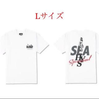 ヒステリックグラマー(HYSTERIC GLAMOUR)のwind and sea hysteric glamour Tシャツ Lサイズ(Tシャツ/カットソー(半袖/袖なし))