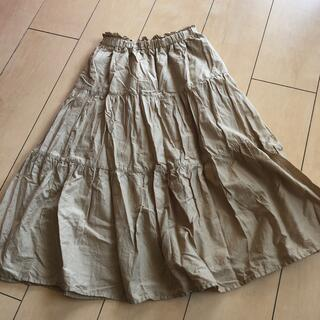 GU - 【値下げ】GU ギャザースカート 140