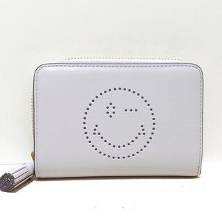 アニヤハインドマーチ(ANYA HINDMARCH)のアニヤハインドマーチ美品  ライトグレー(財布)