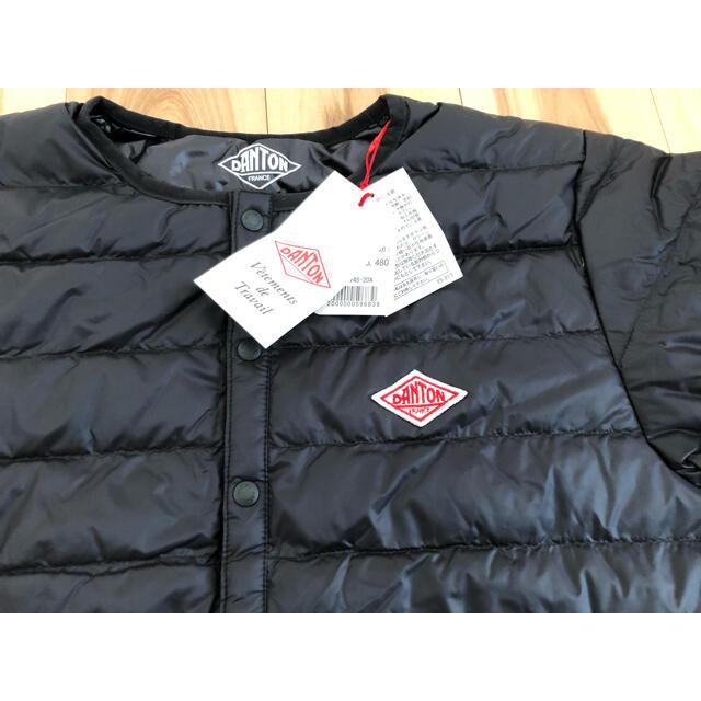 DANTON(ダントン)の新品 DANTON ダントン インナー ダウン ジャケット サイズ36 ブラック レディースのジャケット/アウター(ダウンジャケット)の商品写真