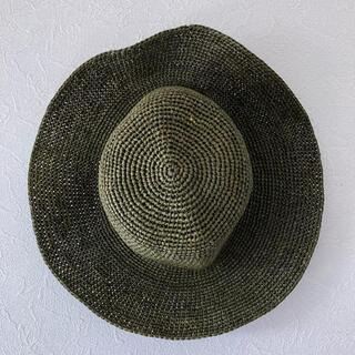 ムジルシリョウヒン(MUJI (無印良品))の本日限定値下げ MUJI 無印良品 帽子 57.5センチ(麦わら帽子/ストローハット)