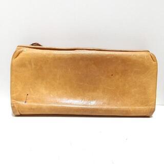 ゲンテン(genten)のgenten(ゲンテン) - ライトブラウン レザー(財布)