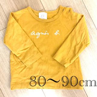 agnes b. - アニエスベー ロゴTシャツ ロンT 長袖 シャツ トップス 18mois