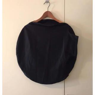 イッセイミヤケ(ISSEY MIYAKE)のISSEYMIYAKEイッセイミヤケ黒ブラック変形デザインラウンドカットソー(シャツ/ブラウス(半袖/袖なし))