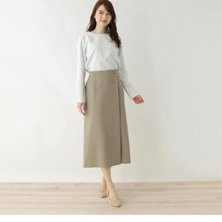 オペークドットクリップ(OPAQUE.CLIP)の美品♪オペークドットクリップ スカート(ロングスカート)