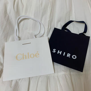 クロエ(Chloe)のSHIRO・Chloe ショップ袋(ショップ袋)
