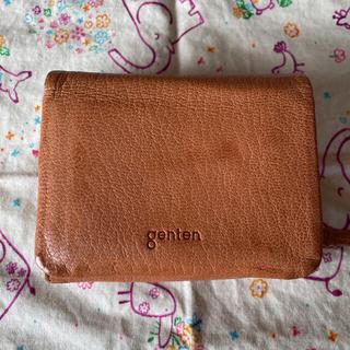 ゲンテン(genten)のgenten ゴートヌメ 折り財布  二つ折り(財布)