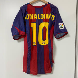 NIKE - ロナウジーニョ 04-05 バルセロナ ホーム ユニフォーム