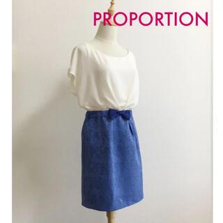 プロポーション(PROPORTION)のPROPORTION♡お嬢様風・上品ワンピ(ミニワンピース)
