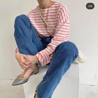 ZARA - modue ボーダーTシャツ
