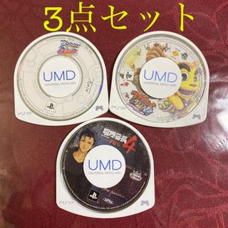 プレイステーションポータブル(PlayStation Portable)のPSP ソフト3点セット(携帯用ゲームソフト)