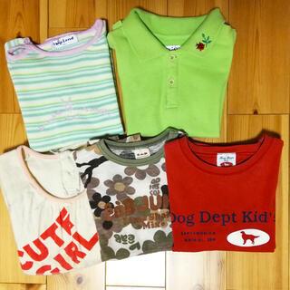 ドッグデプト(DOG DEPT)の女の子Tシャツセット 100(Tシャツ/カットソー)