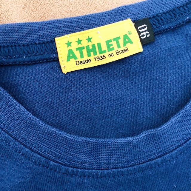 ATHLETA(アスレタ)のATHLETA アスレタ キッズ 90 半袖 夏服 キッズ/ベビー/マタニティのキッズ服男の子用(90cm~)(Tシャツ/カットソー)の商品写真