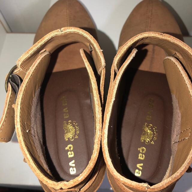 cavacava(サヴァサヴァ)のショートブーツ 24センチ レディースの靴/シューズ(ブーツ)の商品写真