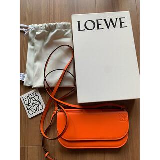 ロエベ(LOEWE)のロエベ LOEWE ゲートポシェット ショルダーウォレット(長財布)