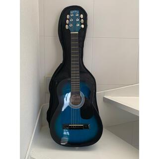 Sepia Crue W50/BLS アコースティックミニギター、ケース有り(アコースティックギター)