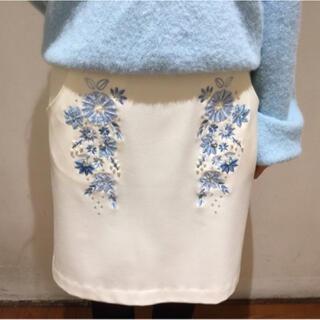 WILLSELECTION - 雑誌掲載willselection ガーデンモール刺繍スカート