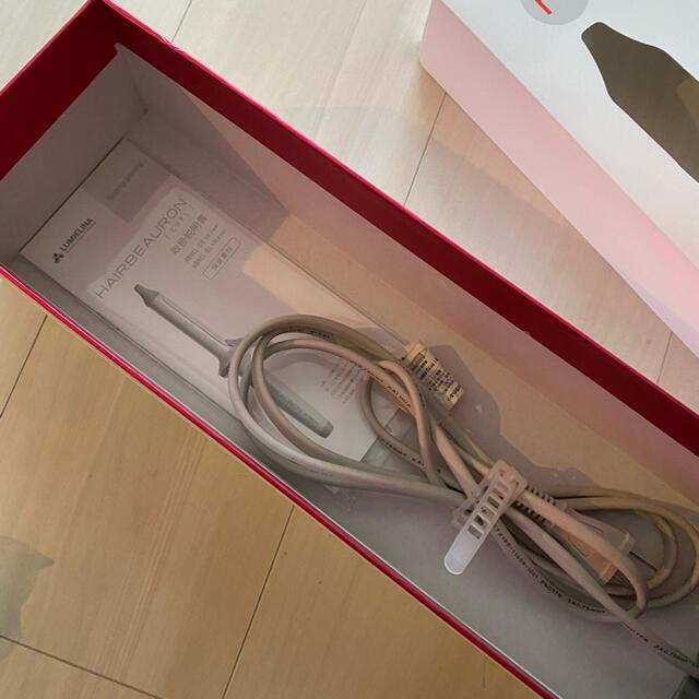 Lumiere Blanc(リュミエールブラン)のヘアビューロン♡34mm ぴん様専用 スマホ/家電/カメラの美容/健康(ヘアアイロン)の商品写真