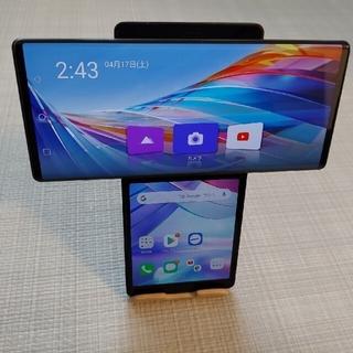 LG Electronics - 美品 SIMフリーLG WING 128GB ブラック