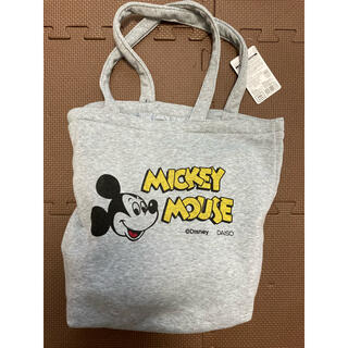ディズニー(Disney)のレトロミッキー柄バック(トートバッグ)