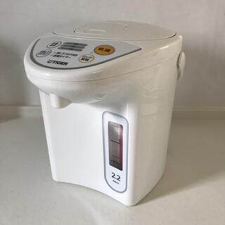 TIGER - TIGER タイガー マイコン電動ポット 2.2L  PDR-G1