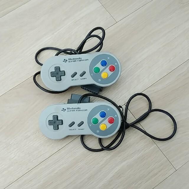 スーパーファミコン(スーパーファミコン)のスーパーファミコン コントローラー エンタメ/ホビーのゲームソフト/ゲーム機本体(その他)の商品写真