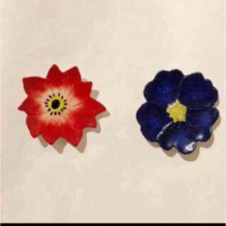 Francfranc - フランフラン ♡ 可愛いお花なお皿 2枚セット