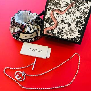 Gucci - GUCCI GUCCI✦インターロッキングG ボールチェーン✦ネックレス