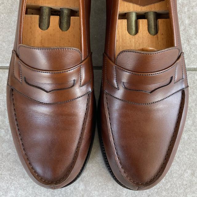 J.M. WESTON(ジェーエムウエストン)のJ.M.weston 180 ローファー ブラウン メンズの靴/シューズ(ドレス/ビジネス)の商品写真