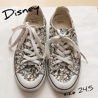 ディズニー(Disney)のディズニー スニーカー 24.5cm(スニーカー)