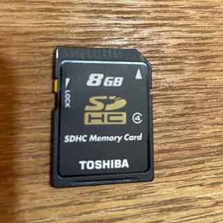 トウシバ(東芝)のTOSHIBA  SDHC  8GB(その他)